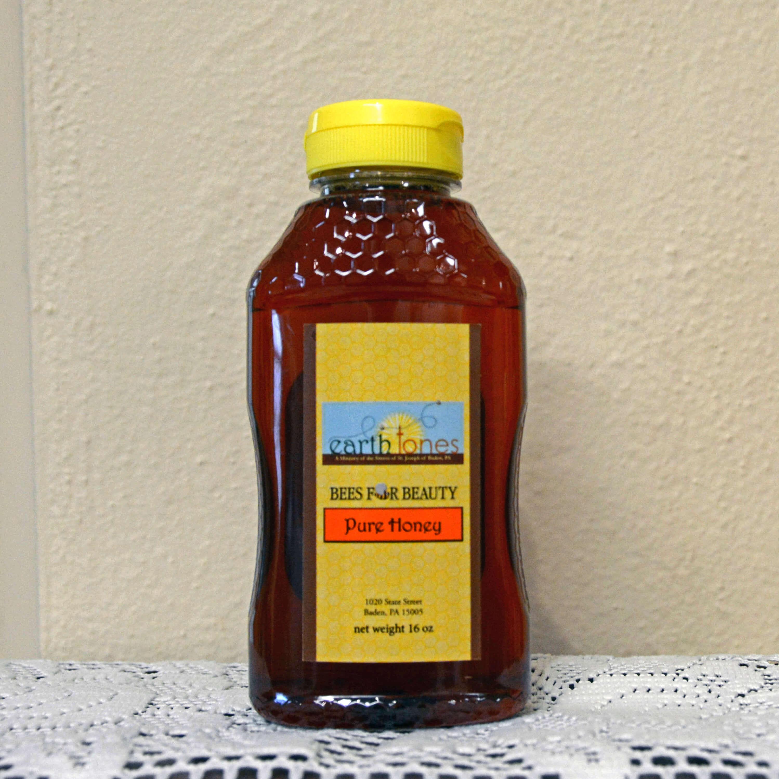 Bottle of the Sisters' honey