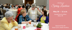 Women at the annual spring luncheon benefit