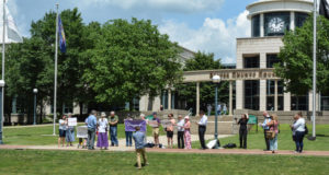 Pray-in at the Beaver County Courthouse