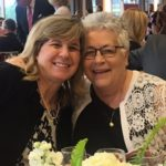 Sister Anna Marie Gaglia, right, and former student Jackie Knupp.