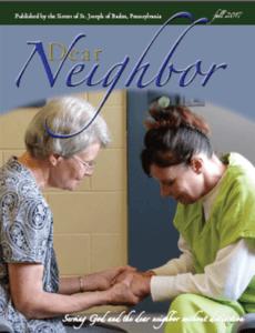Dear Neighbor magazine cover Fall 2017
