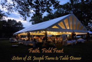 Sisters of St. Joseph Farm to Table Dinner
