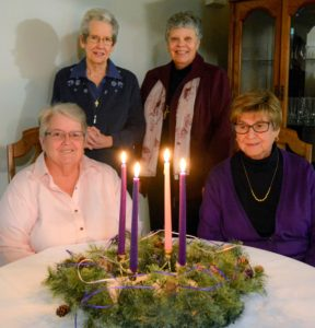 Sisters Betty Adams, Anne Clifford, Mary Parks and Dolores Montini offer weekly Advent reflections