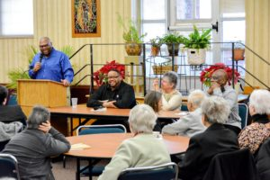 Panel discussion on race held at the Motherhouse