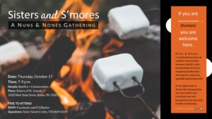 Sisters and S'mores Bonfire @ Sisters of St. Joseph