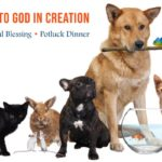 Bring the whole family (and furry friends) for Mass, a Blessing of the Animals and a Potluck Supper on our grounds!