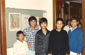 Cambodian Refugees at Sisters of St. Joseph Motherhouse in 1981.
