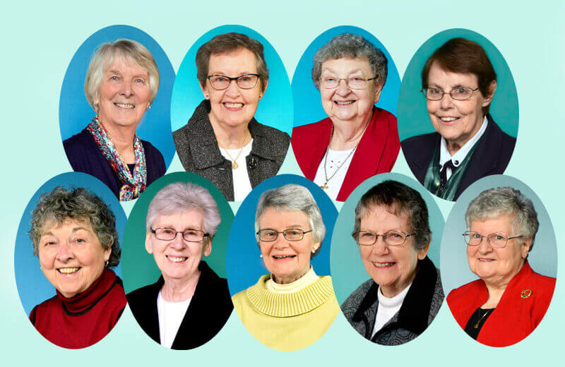 Portraits of Sisters of St. Joseph Celebrating 60 Years as a Sister of St. Joseph