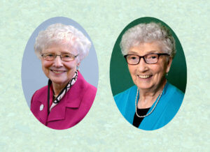 Portraits of Sisters of St. Joseph Celebrating 65 Years as a Sister of St. Joseph in 2021